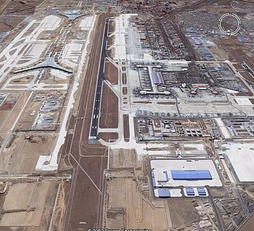 世界上的各大飞机场