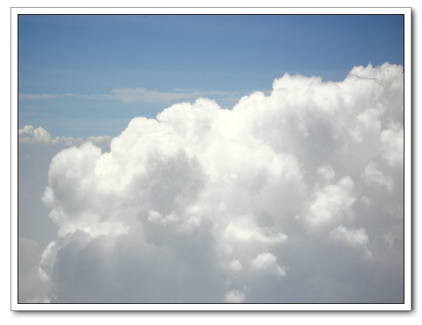 飞机 蓝天白云 景点摄影11-24(图)
