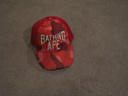 id zembiape item bape red camo 1st cap 09 08 2007 1f983965dde