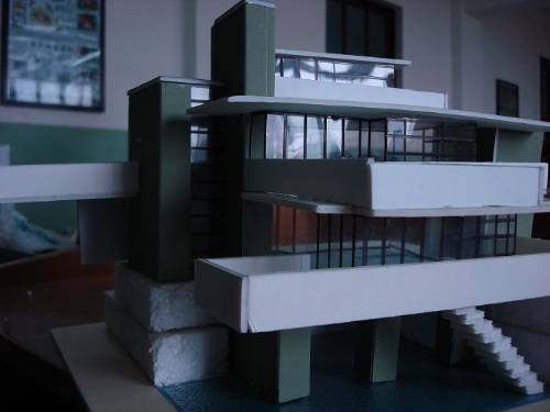 流水别墅[模型]- ▂▂