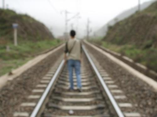 铁路图片背影头像