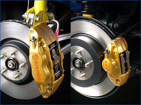 刹车的工作原理与改装