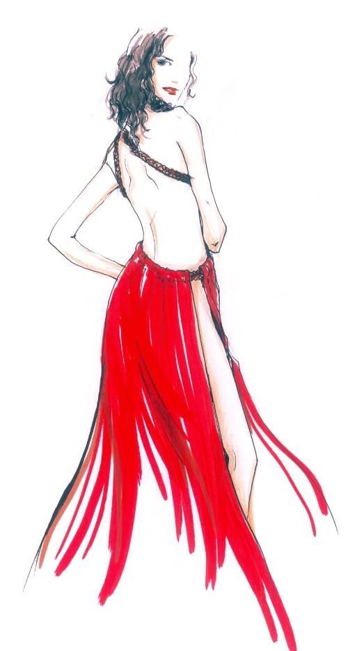 服装设计图基本画法