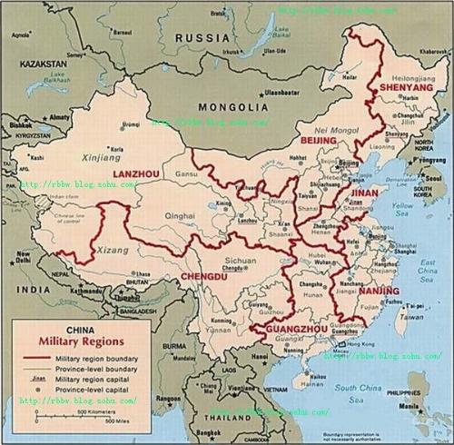 中国地图兰州地理位置