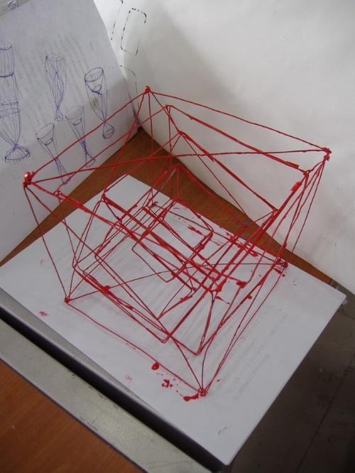肌理平面构成设计图