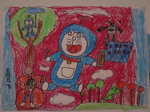 一年级儿童画