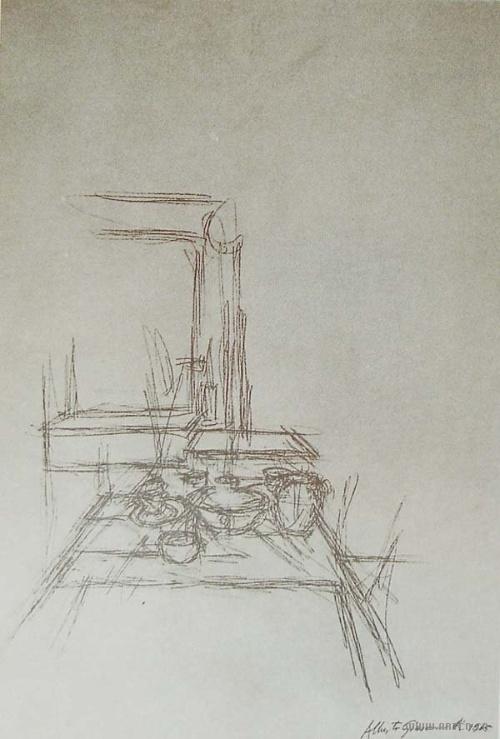 素描桌子的画法步骤