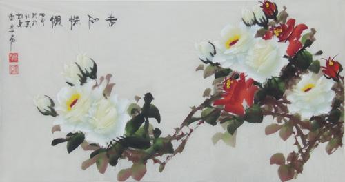 绘画作品系列欣赏之四-世界著名综合书画艺术家李子秋