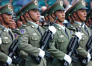 从军服看中国人民解放军的历史