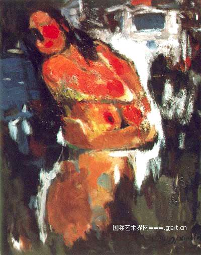 土坷垃里的油画大师——曹新林