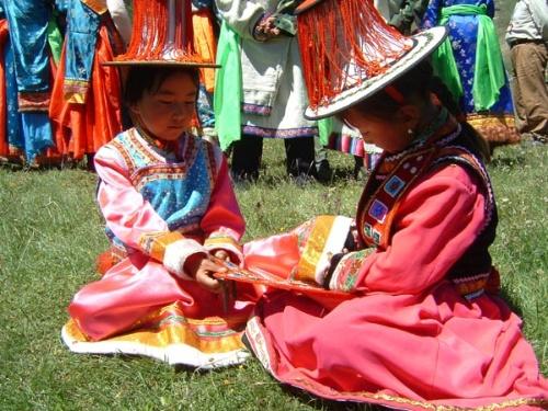 中国少数民族---裕固族图片